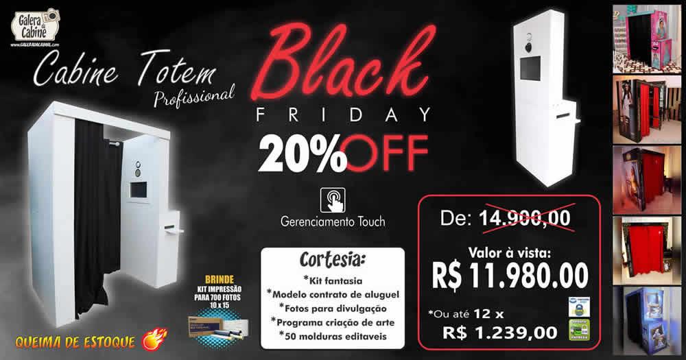 Black Friday Cabine Fotográfica Melhor Preço