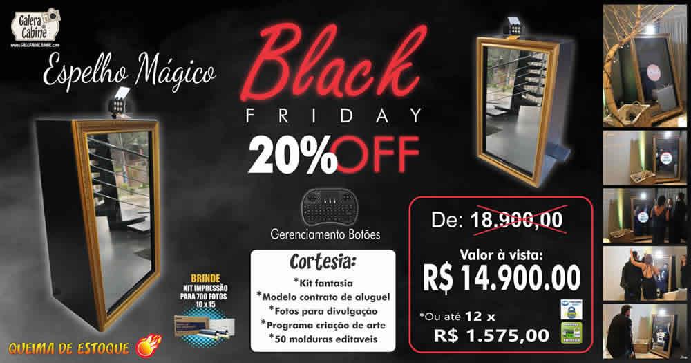 Black Friday Espelho Mágico de Fotos